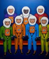 Astromen ... and women by gibsart