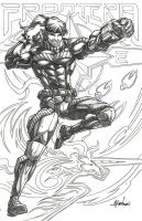 Frontera's  Fess (pencils) by emmshin