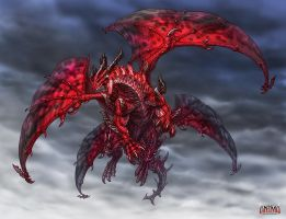 Anima: Red dragon by Wen-M