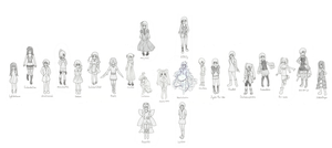 23 characters (Line 1 Final!) by cheukhei96302