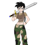 U9 Videl - Dragon Ball Multiverse by HazeelArt