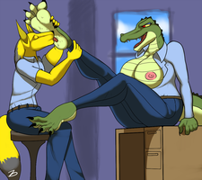 A day with the Croc by zp92