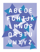 Font Design Poster by thistlesis