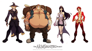 ARMSmasters Color Design 001 by Javadoodle