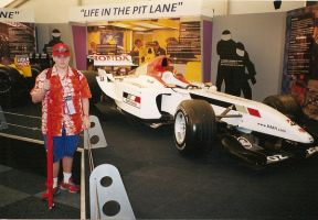 Me At The F1 Expo by NYC55david