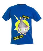 FOR THE KITTIES! T-shirt by Aiko-Hirocho