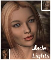 jade Lights by Ecathe