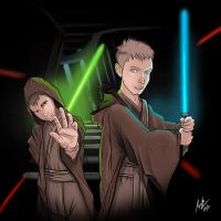 Star wars Family by Airpainter13