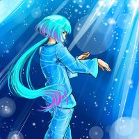 Color of sea depth by YelowFOX