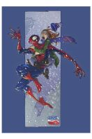 Spider-man n' MJ - Xmas sales by spidermanfan2099
