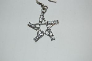 Pentacle Star Earing by Storms-Stock