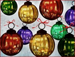 Glass Ornaments by muffet1