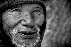 Portrait of an unknown man.. by bingbing51