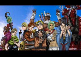 Naruto Shippuuden by AngelicDemonz13