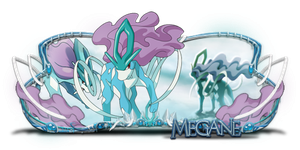 Sign - Suicune pro Megane by kryser