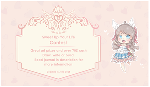 [Contest] Sweet Up Your Life! [Open] by Cottoneeh
