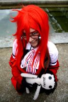 red haired shinigami by littleblacksouly