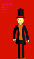 Professor Layton by me by caco2515