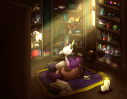 In the study by neo-noctilucent
