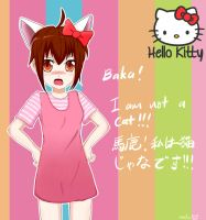Hello Kitty is not a cat!!! by ProjectXeniX
