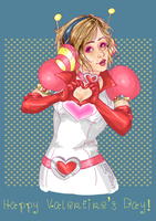 Heather for V-day 2014 by hideko69