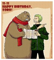 OP-Happy Birthday, Zoro- by vtophya