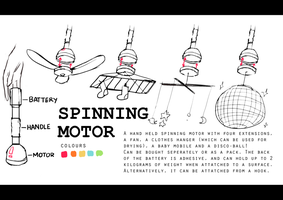 Spinning Motor! by IceLaws