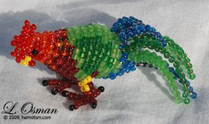 Bead Rooster 1 by hermitworm