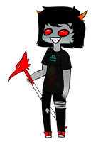 Terezi Pyrope by bunnytooths