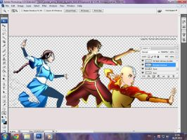 Avatar Team-W.I.P. by Ssabinka