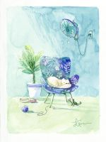 Vertical summer by Cowpea