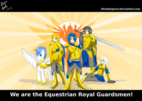 The Equestrian Royal Guardsmen by WindEmperor