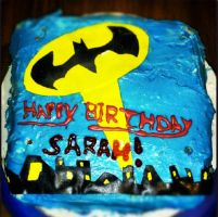 Batman Cake by Hey-There-Lefty