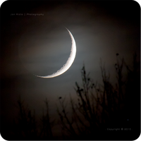 .: Crescent Moonset :. by jon-rista