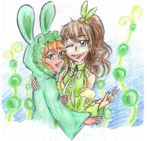 Familie - draw of adopts #1 by Leonorie