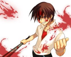 Keiichi Insane by KingJay7