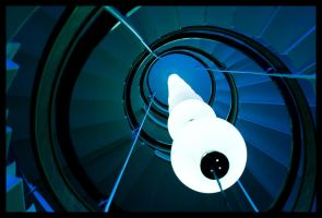 Blue Spiral by Vagrant123