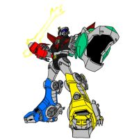 Voltron Force - Voltron by W-Double