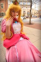 Princess Peach by cloudsofsand