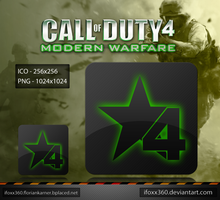 CoD 4 Modern Warfare Icon by iFoXx360