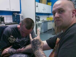 Chillin at Coolum Tattoo by SEVERism
