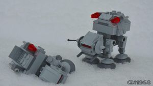 Lego Star Wars Microfighters AT-AT by GabrielM1968