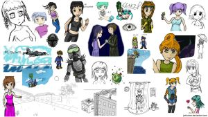 iScribble.net Examples Compilation 2 by Jetrunner