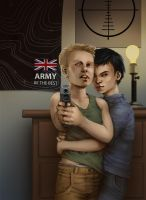 Jimmy and Bastian by x-57