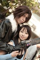 Squall and Rinoa- ALA by UnwoundRibbon
