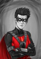 Red Robin by longjunt