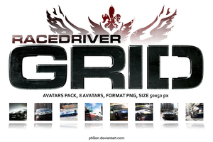 Race Driver Grid Avatars Pack by Ph0eN