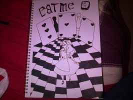 alice in wonderland by cityofillustrations