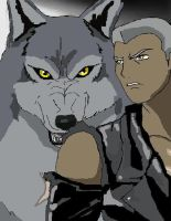 Tsume the lone wolf by Meliss