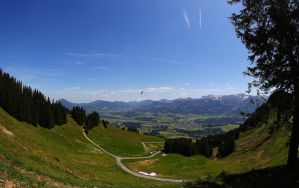 Hill with a view by mkuegler